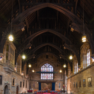Course advice in the Great Hall